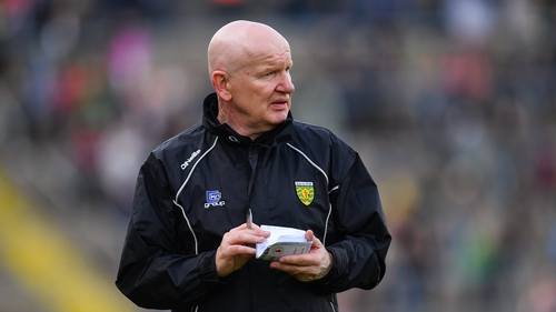 Declan Bonner made his championship debut for Donegal club Na Rossa in 1979 as a 14-year-old