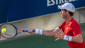 Andy Murray didn't face a single break point on his serve in his win over Tennys Sandgren