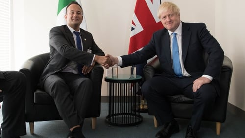 Leo Varadkar said 'the UK should be able to leave the EU in an orderly fashion'