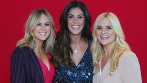 Xpose presenters Cassie Stokes, Glenda Gilson and Karen Koster