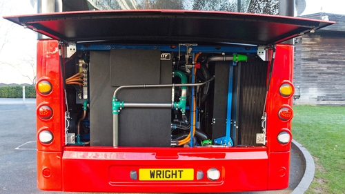 Ballymena-based Wrightbus was placed into administration last month with the loss of 1,200 jobs