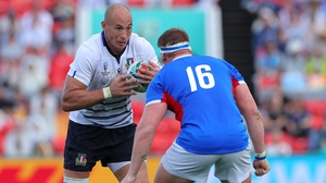 Sergio Parisse will miss his side's clash with Canada