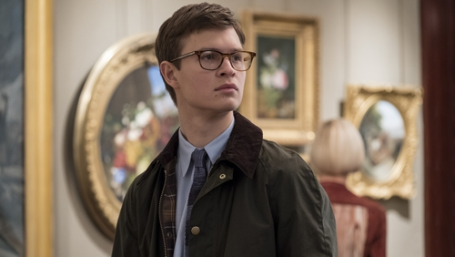 Ansel Elgort looking lost in The Goldfinch