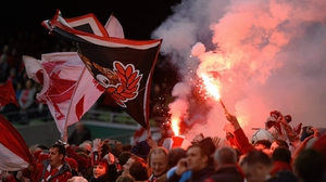 Sligo Rovers fans will be out in force on Sunday evening