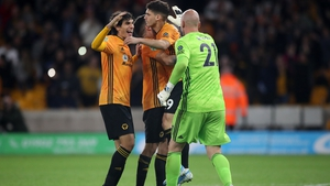 Wolves celebrate their passage to round four