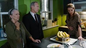 Yates tells Carol and Nora what has happened to Robbie