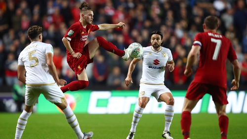 Liverpool's Elliott given 14-day ban for mocking Tottenham's Kane