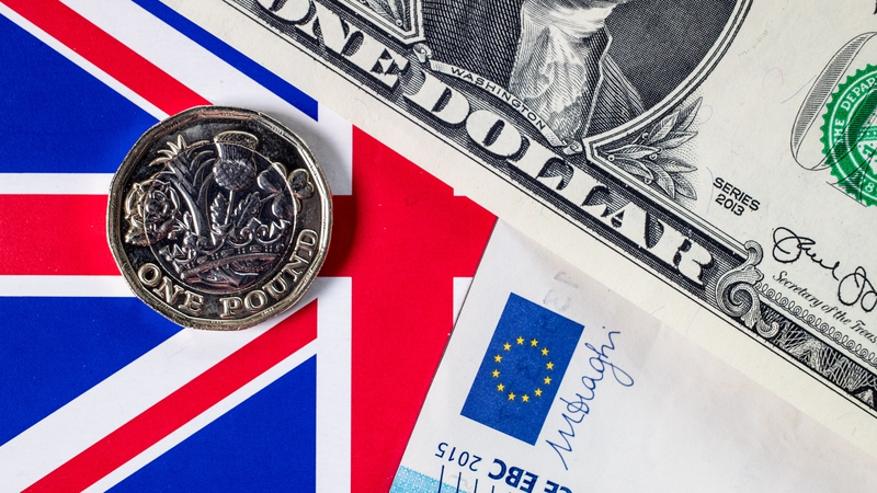 Sterling hits two and a half year peak against euro