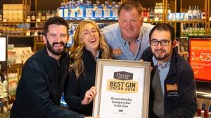 The Shed Distillery team - Sean MacGabhann, Áine Herr, Brian Rigney and Karl McKeown