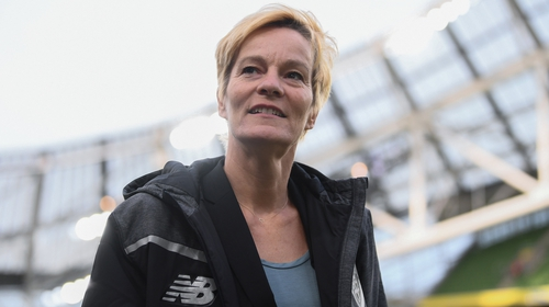 Newly appointed Republic of Ireland women's national team manager Vera Pauw