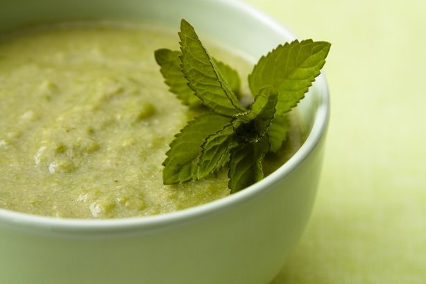Pea and mint soup is a popular choice (iStock/PA)