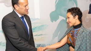 Taoiseach Leo Varadkar and Ruth Negga were at the event to shine a spotlight on Irish talent