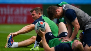 Jack Carty starts at out-half for Ireland