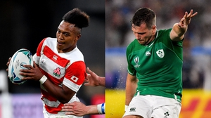 Ireland and Japan have both won their opening games