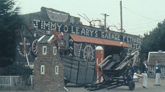 Jimmy O'Leary's Garage, Fethard-On-Sea, County Wexford (1989)