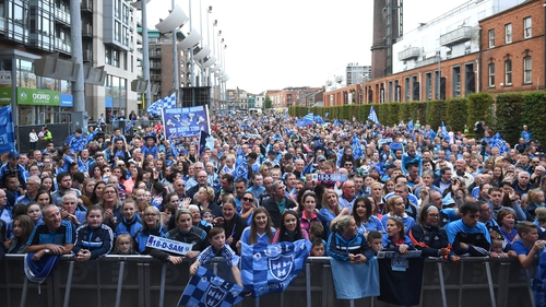 Last year's homecoming drew an estimated 7,000 to Smithfield but the event has now been moved to the greater capacity Merrion Square