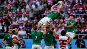 James Ryan has already impressed for Ireland in Japan