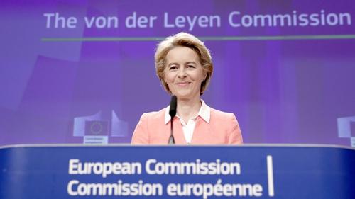 Ursula von der Leyen has defended the new title for the EU's Migration Commissioner
