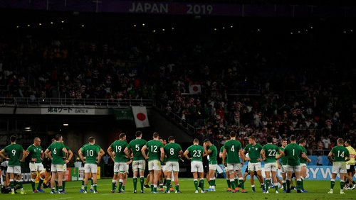 It is the fifth time Ireland have lost to World Cup hosts