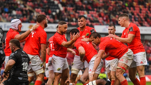 Munster secured a 30-point win at home against the Dragons