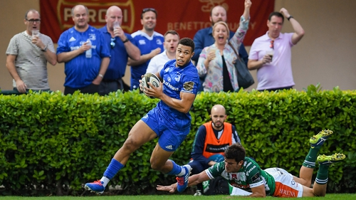 Leinster scored a five-point win over Benetton Treviso
