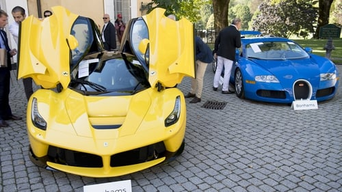 The cars are expected to bring in more than €17m