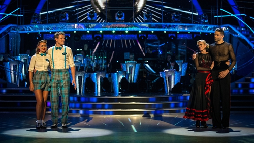 Olympic rower James Cracknel and ex-England footballer David James faced off in the first Strictly Come Dancing dance-off