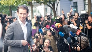 It is unclear whether Sebastian Kurz will lean left or to the far right in seeking a coalition partner