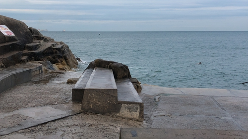 The man got into difficulty swimming around the Forty Foot in Sandycove (File photo)