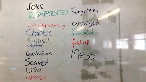 'Disappointed','worried','Scared' -the list does not make for happy reading