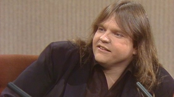 Meat Loaf on the Late Late Show (1984)
