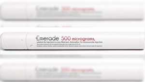 If a patient is in possession of any Emerade pen, they should return it to their pharmacy, where they will receive a replacement alternative product