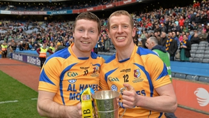 Hayes and Canning after the 2014 All-Ireland club win
