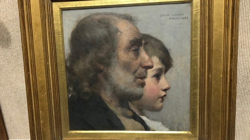 'Youth and Age' was painted by the artist in 1885