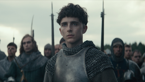 Youth and young manhood - Timothée Chalamet as King Henry V