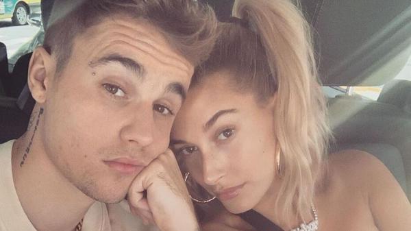 Justin and Hailey Bieber. Image: Instagram/JustinBieber