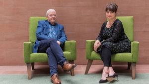 Seán Ó hÉanaigh and Mairi Anna Nic Ualraig, presenters of Sruth na Maoile which celebrates 25 years on air with a gala concert in Glór, Ennis on Saturday 5 October.