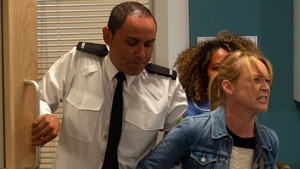 Vanessa is arrested after accidentally hitting a nurse on Emmerdale