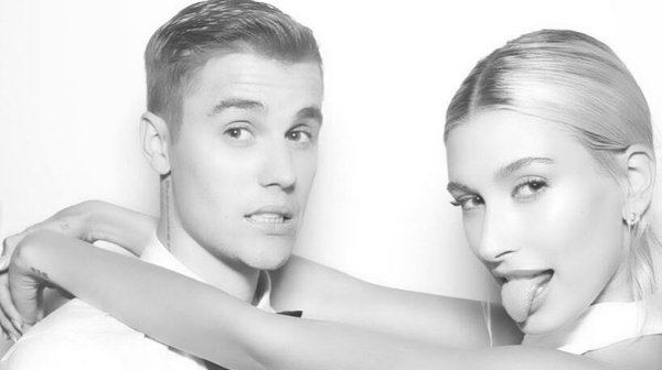 Justin and Hailey Bieber. Image: Instagram/JustinBieber