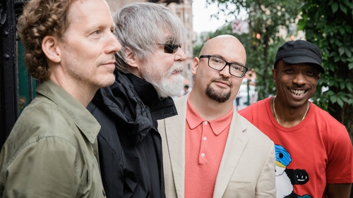 Ethan Iverson Quartet, from left to right, Street, Harrell, Iverson, McPherson.