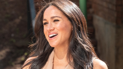Meghan Markle is currently on a royal tour of South Africa