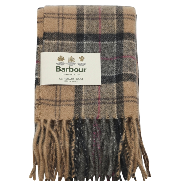 Barbour Scarf. Credit: Conor McCabe Photography