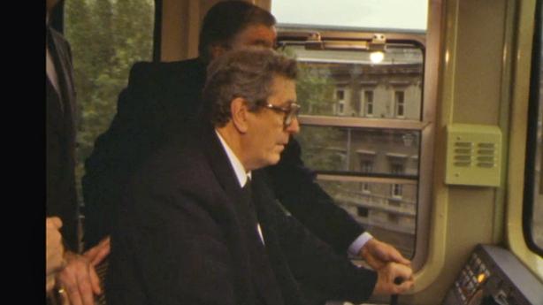 Taoiseach Dr Garret FitzGerald Drives the Dart (1984)