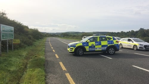 The collision happened around 8am on the N21 at Meenleitrim, Castleisland