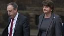 DUP leader Arlene Foster and deputy leader Nigel Dodds