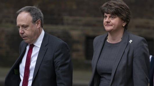 DUP says it cannot support current Brexit deal