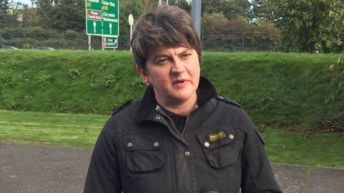 Arlene Foster said that Northern Ireland 'will leave the EU, Customs Union and Single Market'