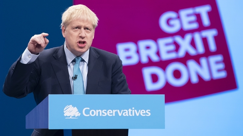 Boris Johnson sentthe UK's formal proposals to the EU followinghis speech to the Conservative Party conference
