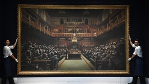 'Devolved Parliament' is being sold with a pre-auction estimate of £1.5m to £2m