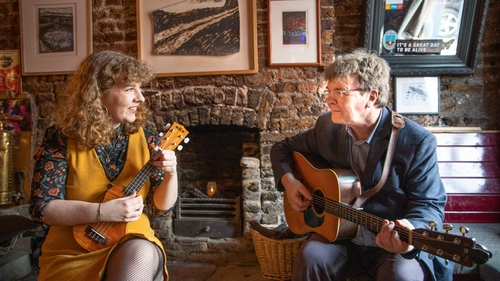 Ellie Shine, who will perform at the 2019 Cork Folk Festival, alongside her father Noel Shine, who played at the very first Festival in 1979, launching the Cork Folk Festival